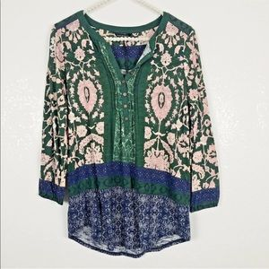 [Lucky Brand] NWT Floral Print Top